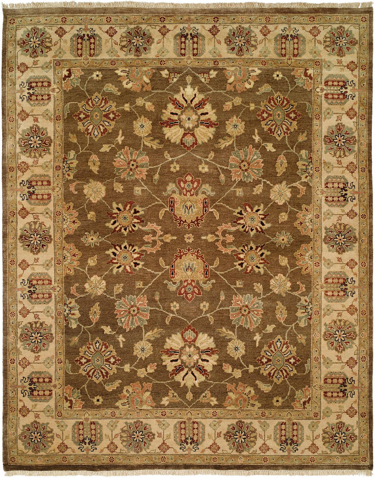 Oak Collection Sienna Ivory Kirishian Imported Rug Co